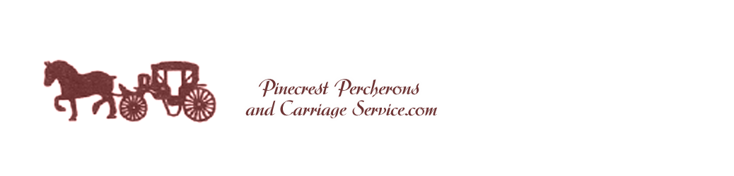 Pinecrest Percherons and Carriage Service
